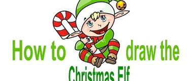 How to draw the Christmas Elf, draw New Year, #YouTubeKids, #Howtodraw, #PencilTV