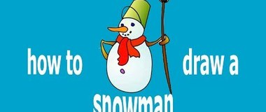 How to draw a snowman, #YouTubeKids, #Howtodraw, #PencilTV