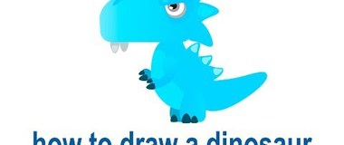 How to draw a dinosaur, draw animals, #Kids, #YouTubeKids, #Howtodraw