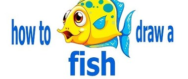 How to draw a fish, draw a beautiful fish, #PencilTV, #YouTubeKids