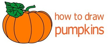 How to draw a pumpkin, draw vegetables, #children, #YouTubeKids, #howto