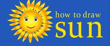 How to draw the sun, draw a sunshine, simple drawings, #children, #YouTubeKids