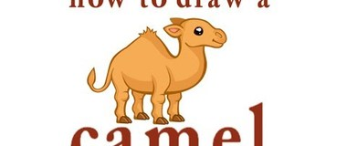 how to draw a camel, draw animals, #children, #YouTubeKids