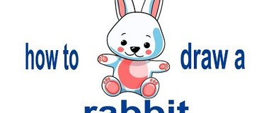 How to draw a rabbit, draw pets, #Kids, #YouTubeKids, #Howtodraw, #Howtopaint