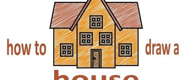 how to draw a house, draw a house step by step, #Kids, #YouTubeKids, #Howtodraw, #penciltv